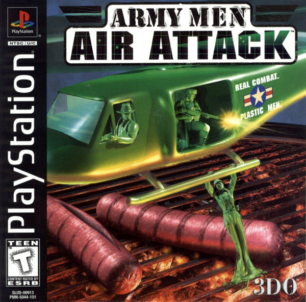 Army Men - Air Attack [U] Front Cover